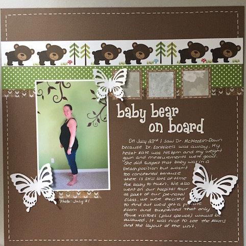 Baby Bear on Board