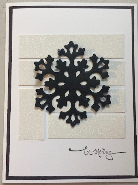 Be Merry - Snowflake