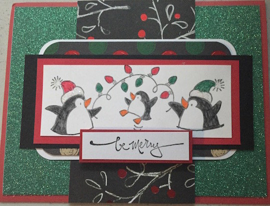 Be Merry - penguins