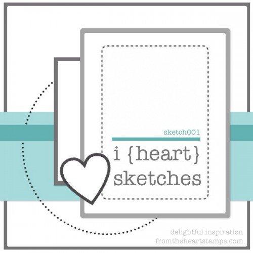 March Bonus Card Sketch for Jenny's Challenge