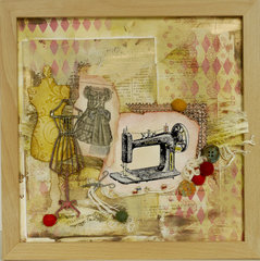 Sewing collage