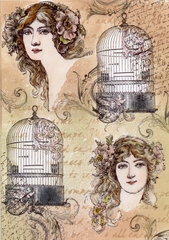 Birdcage Collage