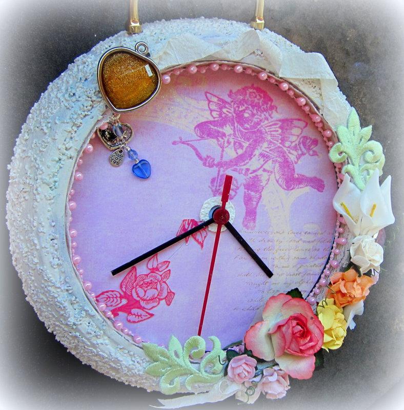 Shabby Romance Altered Ikea Clock