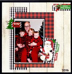 Christmas PJs 2016