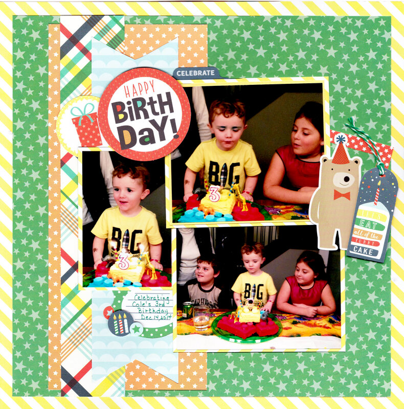 Cole's 3rd Birthday