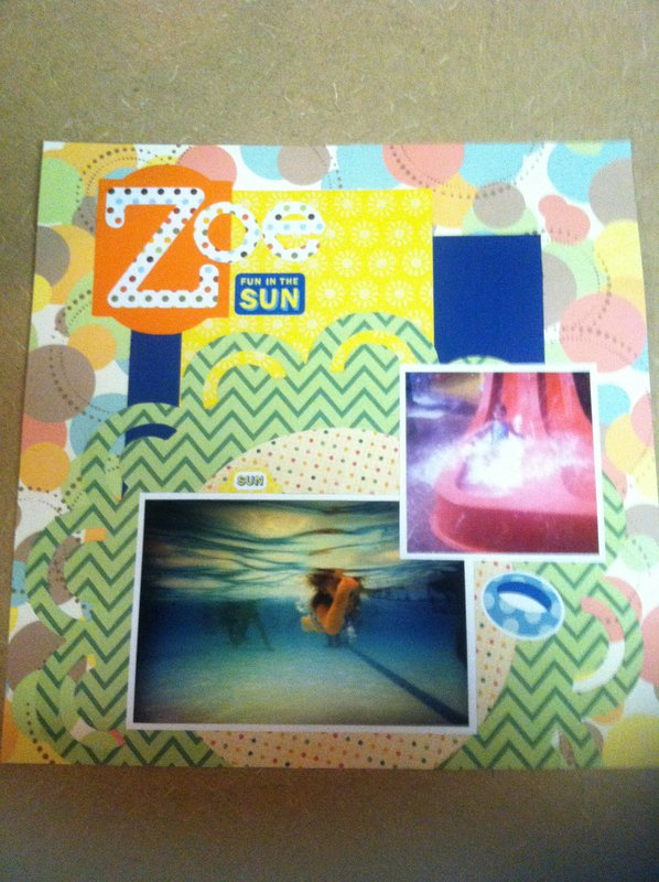 Waterpark 12 x 12 Layout