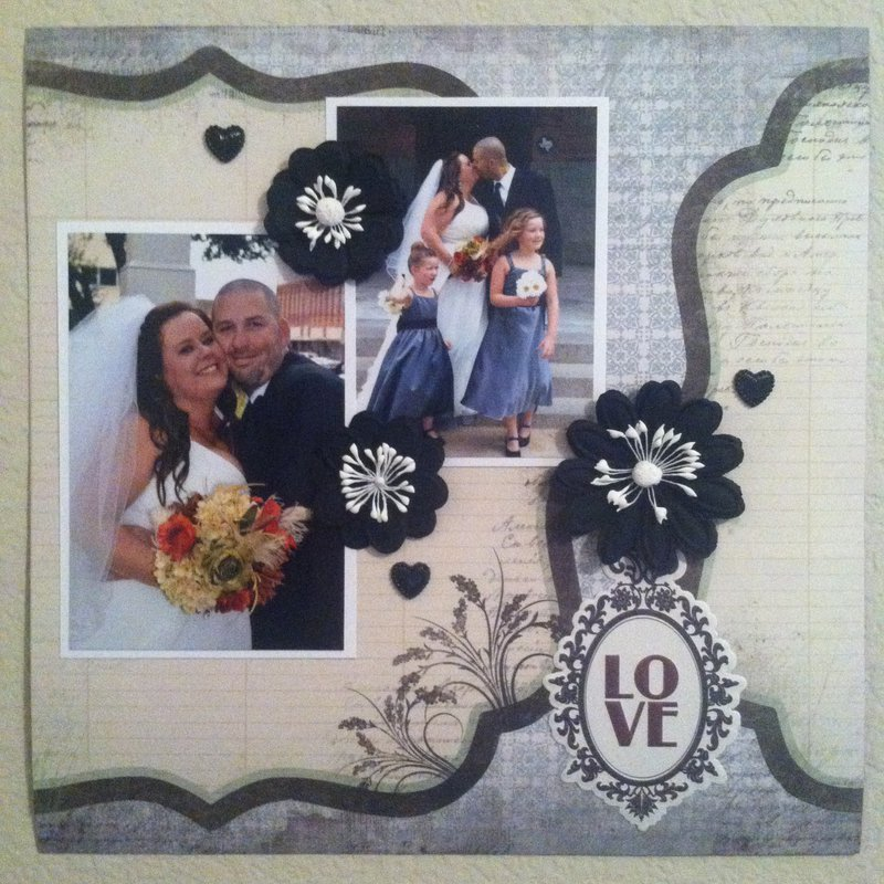 Our Wedding 12x12 Layout