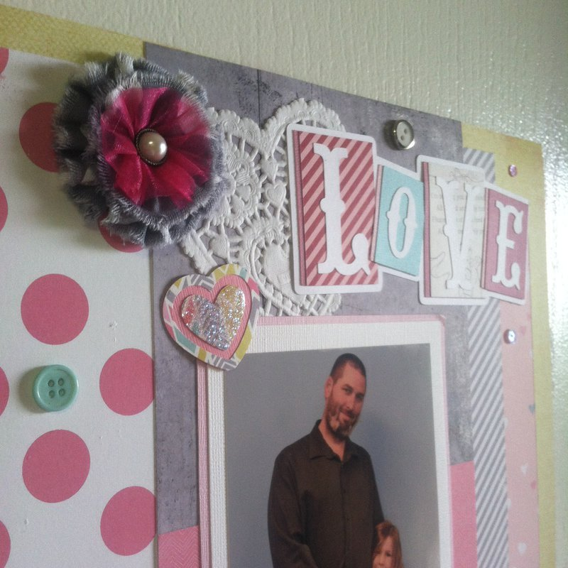 Daddy Daughter Dance 12 x 12 Layout
