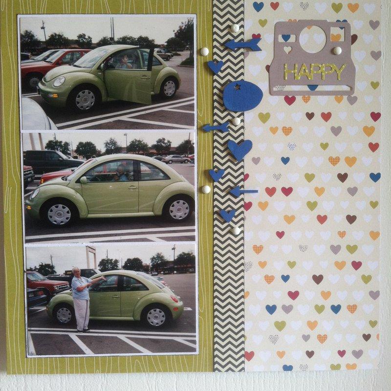 Granny's Bug 12 x 12 Layout