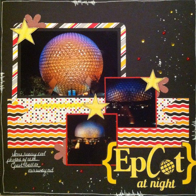 Epcot at Night