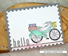 A Bike Ride to Say Hello