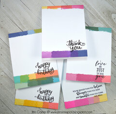 Super Simple One Layer Note Card Set