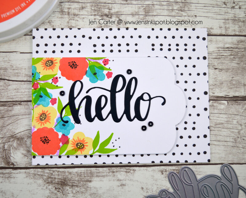 Dotted Hello