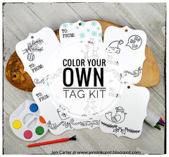 Color Your Own Tag Kit