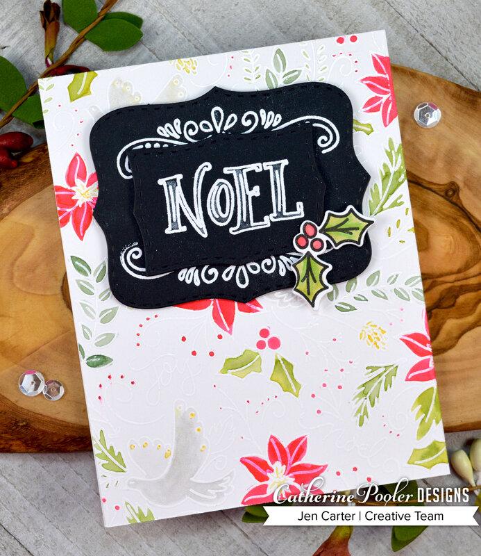 Noel Watercolored