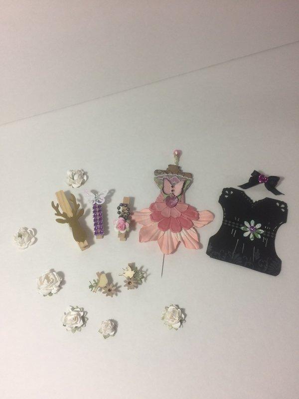 Handmade embellishments