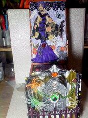 Halloween Easel Card Box