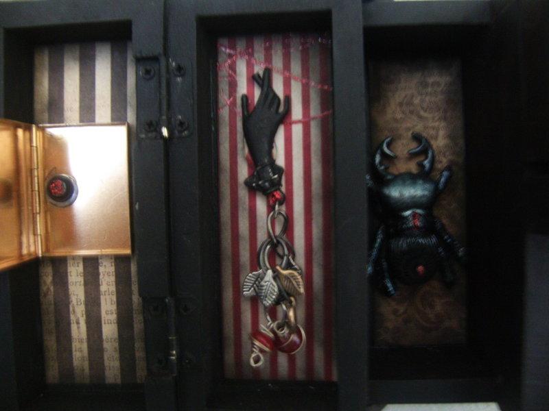 steampunk sewing box