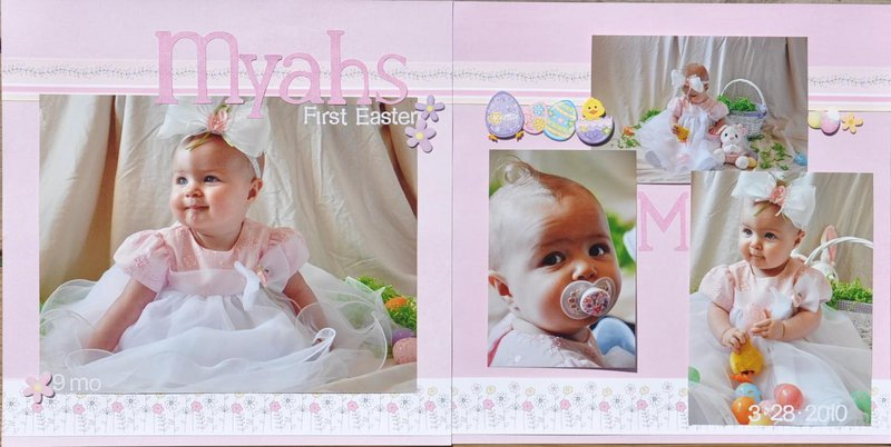 Myahs first Easter