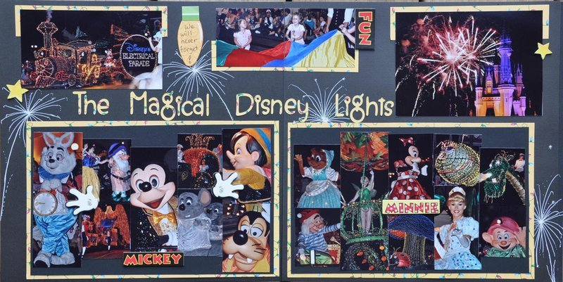 The Magical Disney Lights