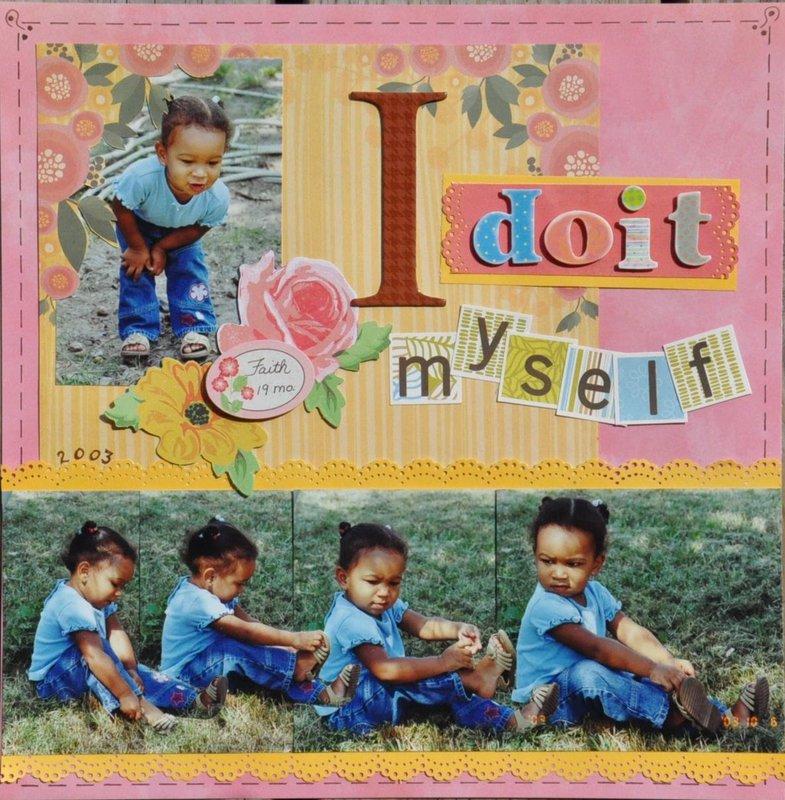 I doit myself