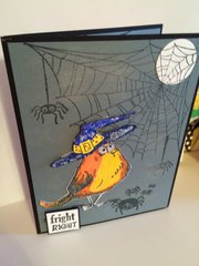 Halloween Bird Crazy card
