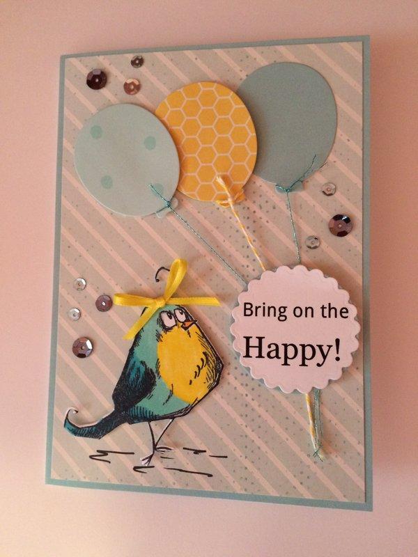 Birthday Crazy Bird