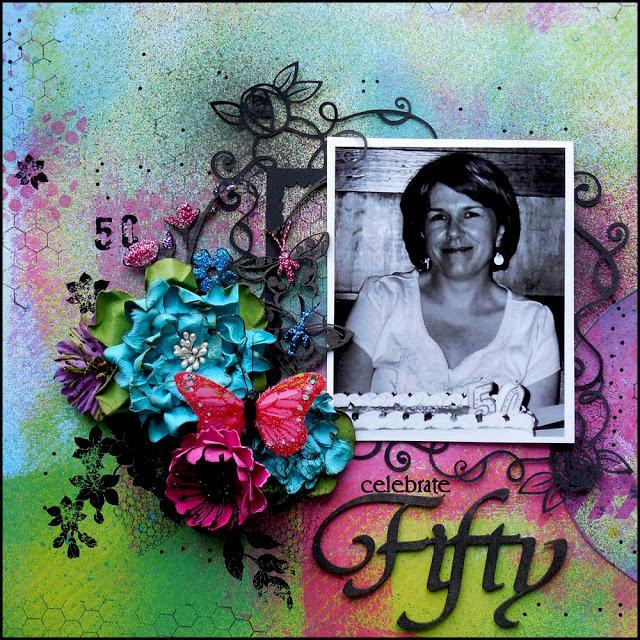 Celebrate Fifty - Berry71Bleu