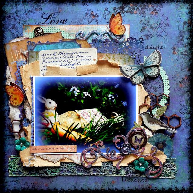 Enjoy The Little Things - Berry71Bleu