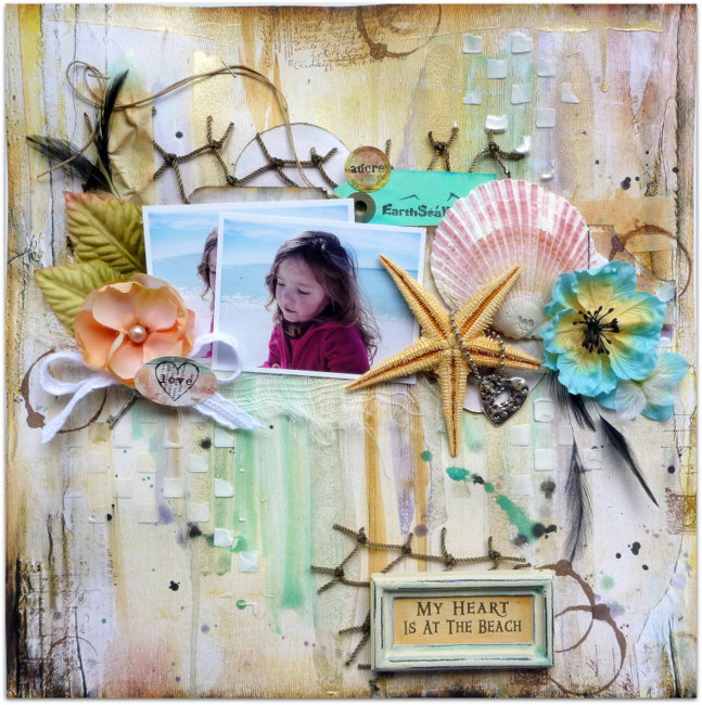 My Heart Is At The Beach - Berry71Bleu