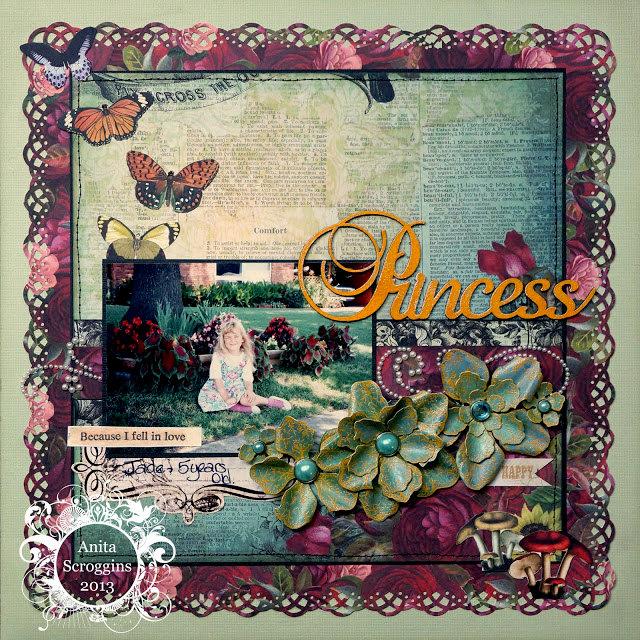 Princess Jade - Berry71Bleu