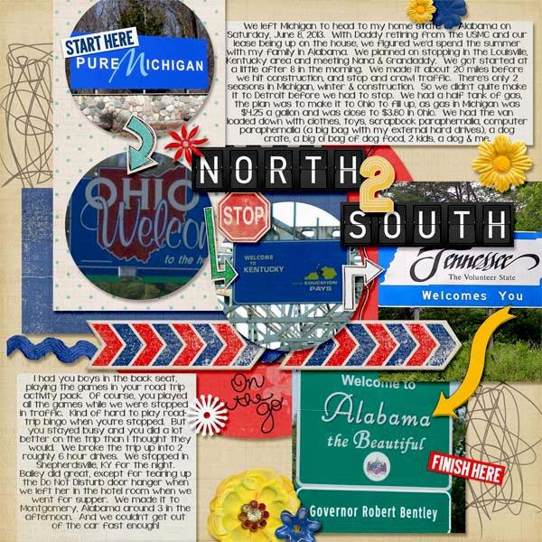 North 2 South