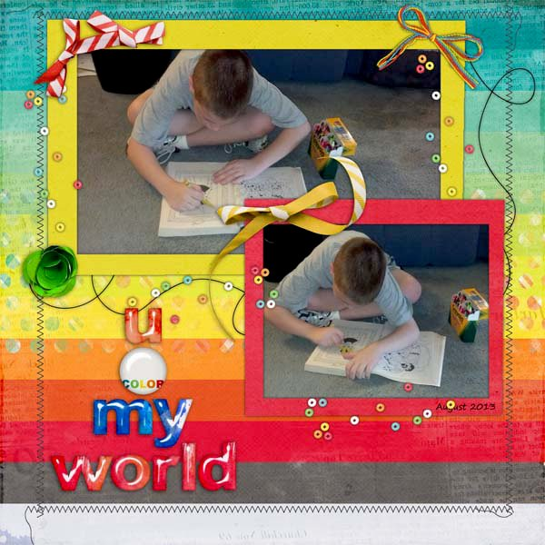 u color my world