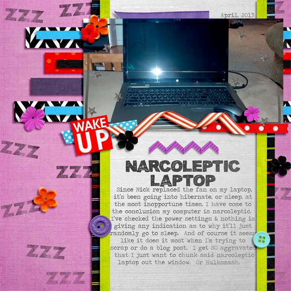narcoleptic laptop