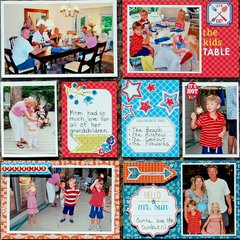 4th Of July - Project Life