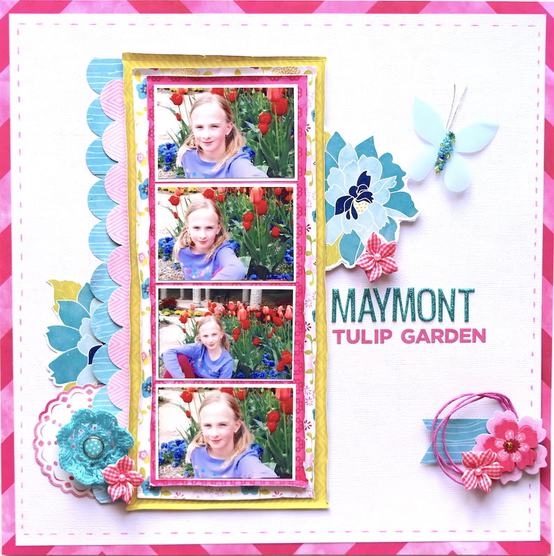 Maymont Tulip Garden