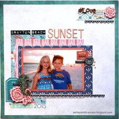 Grayton Beach Sunset