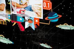 "Сarta bella paper ""Space Academy"""