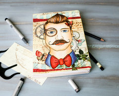 Journal Prima Bloom Collection Quentin