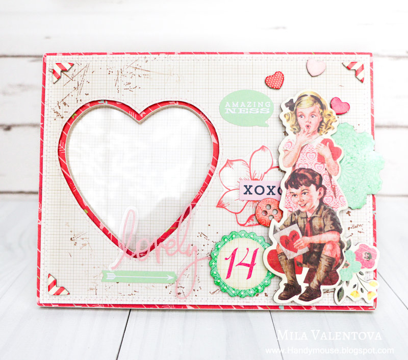 "Photo frame ""Valentines Day"""
