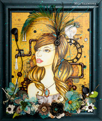 "Steampunk prima bloom girl ""Emily""."