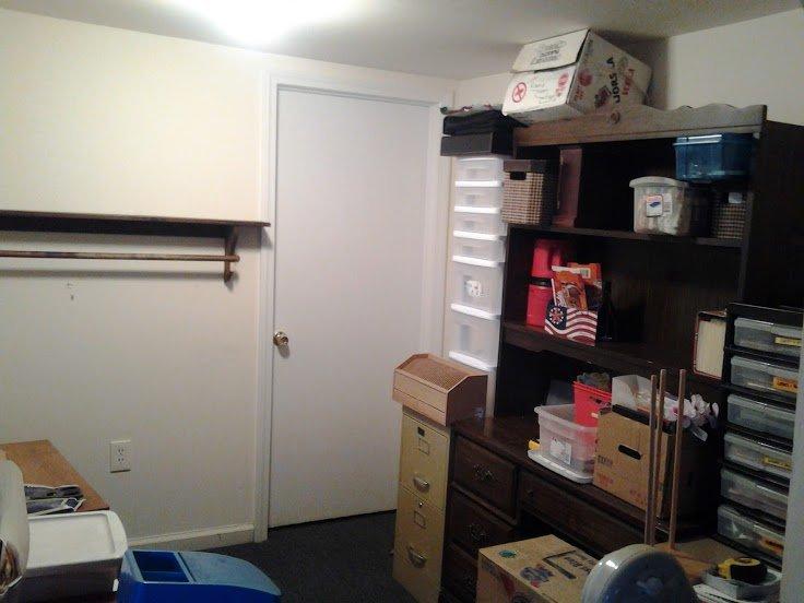 new scrap room... before pics