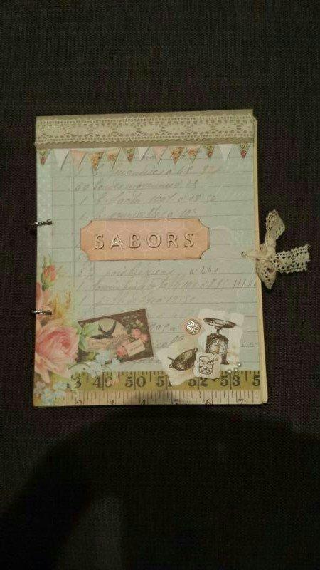 Recipe Book Scrapbook