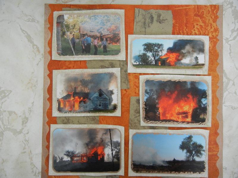 burning old farms