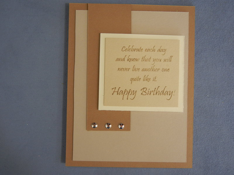Card for special him