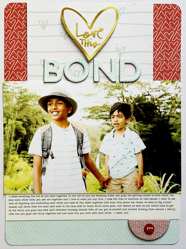 Love this bond