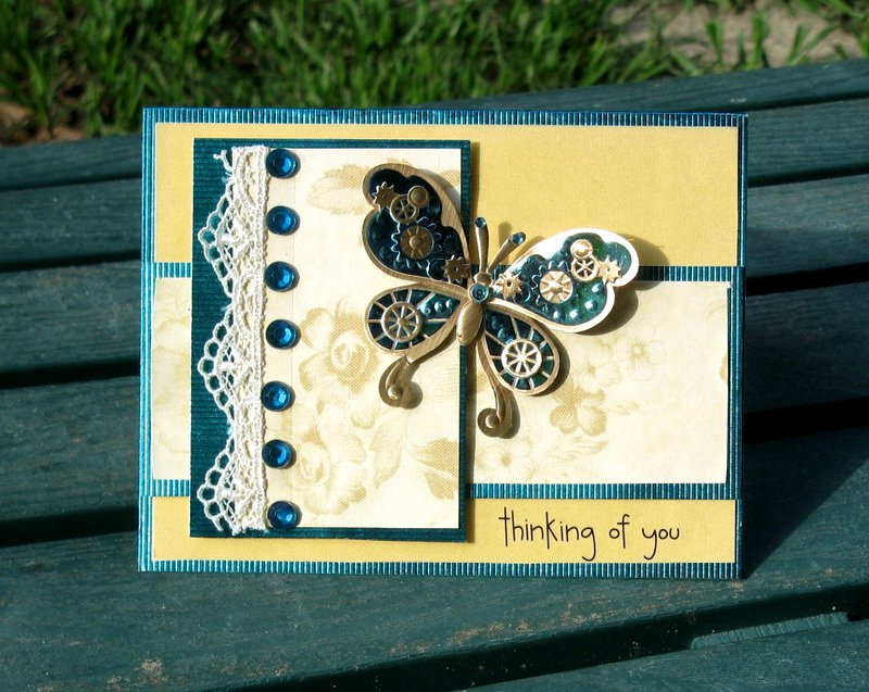 Vintage Steampunk Butterfly
