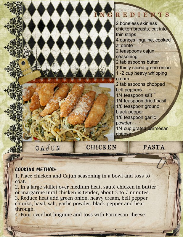 Chicken Cajun Pasta