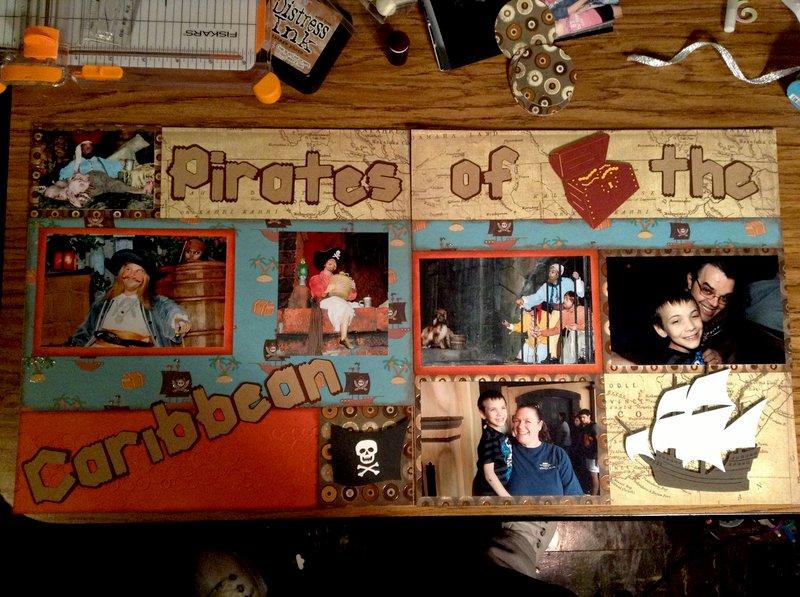 Pirates of the Caribbean Disney World