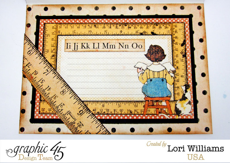 ABC Primer Card with Graphic 45